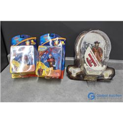 (2) Toy Story Toys; Pirates of The Carribean inn Packages