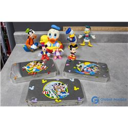 Disney's Mickey Mouse and Friends Toy and Tins