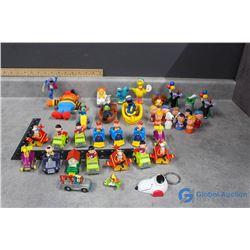 Snoppy and Sesame Street Toys