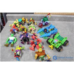 Toxic Crusader Toys