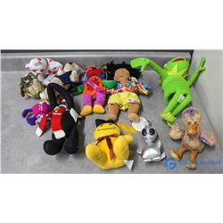 Ty Beanie Babies, Kermit, etc