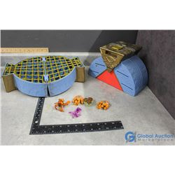 (2) Toy Storage Cases