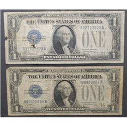 1928 A&B $1 SILVER CERTIFICATES