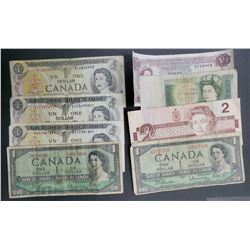 8-CANADA / BANK of ENGLAND NOTES