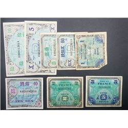 8-MILITARY PAYMENT / NOTES