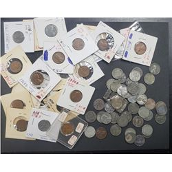55-STEEL CENTS & 15 LINCOLN CENTS