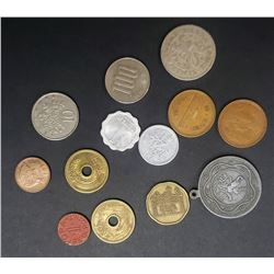 FOREIGN COINS / TOKEN / MEDALLION LOT