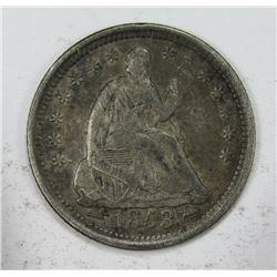 1853 SEATED HALF DIME