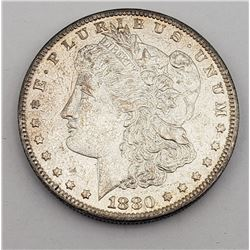 1880-O MORGAN DOLLAR UNC