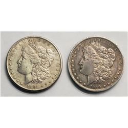 1890-O & 1891-S MORGAN DOLLARS