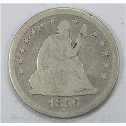 1856-O SEATED QUARTER