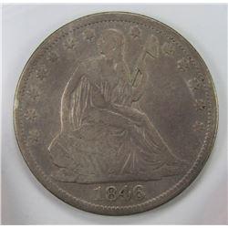 1846-O SEATED HALF DOLLAR
