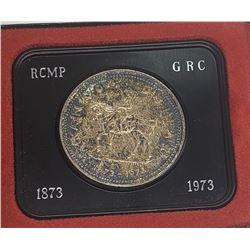 1973 Canada 50% Silver Specimen Dollar