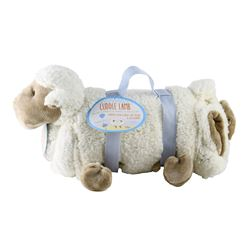 CUDDLE LAMB PILLOW BLANKET / $39.99