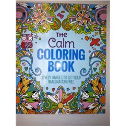 """THE CALM"" ALL AGES COLORING BOOK $14.99 EA"