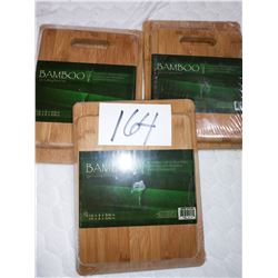 BAMBOO CUTTING BOARD SETS of 2 /$29.99 SET OF 2