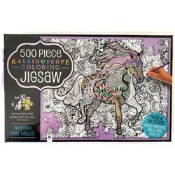 500 PC KALEIDOSCOPE COLORING GIG SAW PUZZLE / $19.99 EA