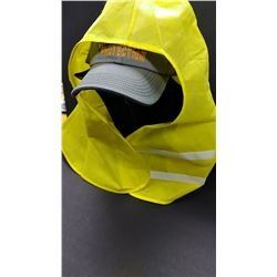 """HAZMAT """"ONE SIZE FITS ALL"""" HOODS WITH VELCRO $14.99 EA"""