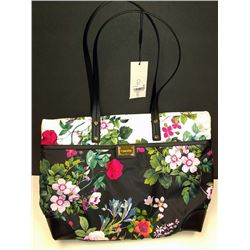 NEW CALVIN KLEIN FLORAL HANDBAG NEW $149.00