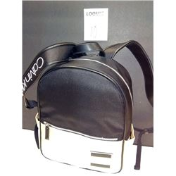 NEW, CALVIN KLEIN 2 TONE NYLON FASHION BACK PACK $158.00