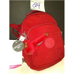 NEW, KIPLING CONVERTIBLE NYLON BAG, SMALLER SIZE $69.00