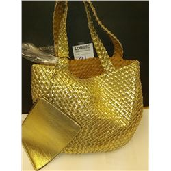 NEW, CALVIN KLEIN 2 PC OVERSIZED HANDBAG W/PURSE $139.00