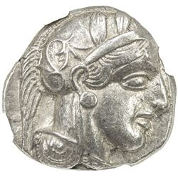 ATHENS (ATTICA): 440-404 BC, AR tetradrachm (17.18g). NGC AU