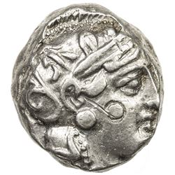 ATHENS (ATTICA): ca. 393-300 BC, AR tetradrachm (17.21g). EF