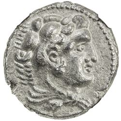MACEDONIAN KINGDOM: Alexander III, the Great, 336-323 BC, AR tetradrachm, ND. EF