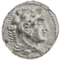 MACEDONIAN KINGDOM: Alexander III, the Great, 336-323 BC, AR tetradrachm, ND. EF