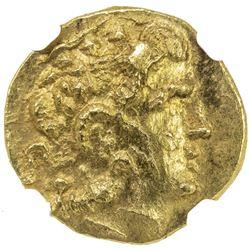 PONTIC KINGDOM: Mithradates VI, 120-63 BC, AV stater (8.14g), Kallatis, ca. 88-86 BC. NGC MS