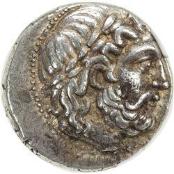 SELEUKID KINGDOM: Seleukos I Nikator, 312-281 BC, AR tetradrachm (17.22g), Seleukeia on the Tigris I