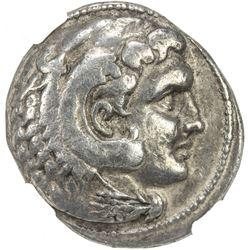SELEUKID KINGDOM: Antiochos II Theos, 261-246 BC, AR tetradrachm (16.92g), Susa. NGC VF