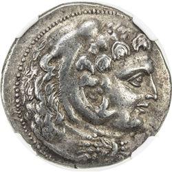 SELEUKID KINGDOM: Seleukos II Kallinikos, 246-225 BC, AR tetradrachm (16.88g), Susa. NGC VF