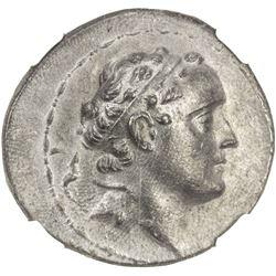 SELEUKID KINGDOM: Seleucus IV, 187-175 BC, AR tetradrachm (16.36g). NGC MS