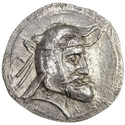 PERSIS KINGDOM: Vadfradad (Autophradates), 3rd century BC, AR tetradrachm (16.95g). EF