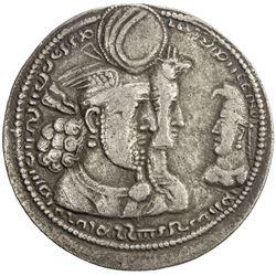 SASANIAN KINGDOM: Varhran II, 276-293, AR drachm (4.32g). EF