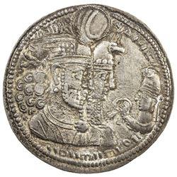 SASANIAN KINGDOM: Varhran II, 276-293, AR drachm (3.98g). EF