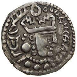 BUKHARA: Bukharkhodat series, early 8th century, AR drachm (2.72g). EF