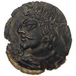 CHACH: Vanvan, ca. 4th century, AE cash (3.22g). EF
