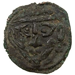 PAIKEND: Anonymous, early 8th century, AE cash (0.82g). VF
