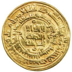 SAMANID: Nuh II, 943-954, AV dinar (4.82g), Nishapur, AH339. VF