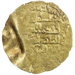 QARAKHANID: Ibrahim b. Husayn, 1178-1203, AV dinar (3.07g), MM, AH58x. VF