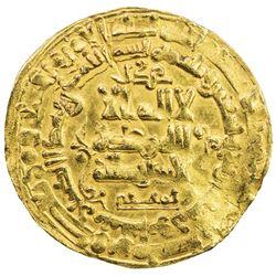 GHAZNAVID: Mahmud, 999-1030, AV dinar (3.21g), Nishapur, AH394. VF-EF