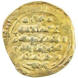 GHAZNAVID: Ibrahim, 1059-1099, AV dinar (4.20g) (Ghazna), DM. VF