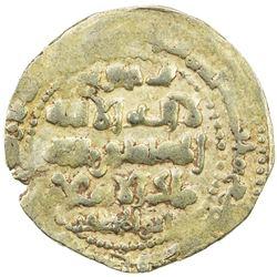 GHAZNAVID: Ibrahim, 1059-1099, AV dinar (4.43g) (Ghazna), AH491. EF