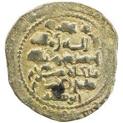 GHAZNAVID: Mas'ud III, 1099-1115, AV dinar (4.58g), Ghazna, AH(4)92. EF
