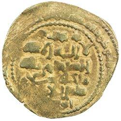 GHAZNAVID: Mas'ud III, 1099-1115, AV dinar (4.85g), Ghazna, AH(492). EF