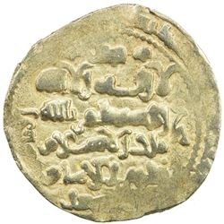 GHAZNAVID: Mas'ud III, 1099-1115, AV dinar (5.26g) (Ghazna), AH(492). EF