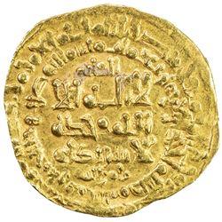 GREAT SELJUQ: Tughril Beg, 1038-1063, AV dinar (2.71g), Nishapur, AH441. VF-EF